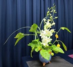 ハバネロ生け花2012