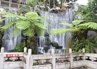 龍山寺の滝