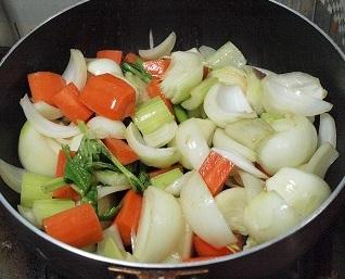 野菜いためて2013217