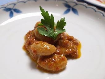 白花豆トマトソース2013325