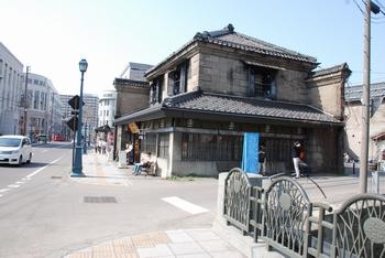 小樽硝子館。