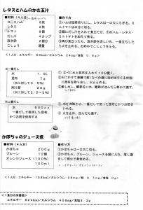 マザーズクッキングレシピ1