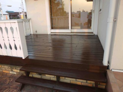 finished deck casty
