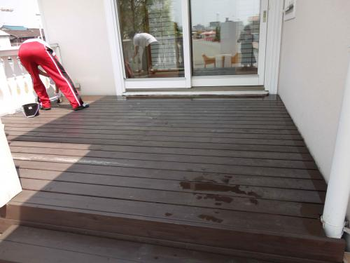 painting deck casty