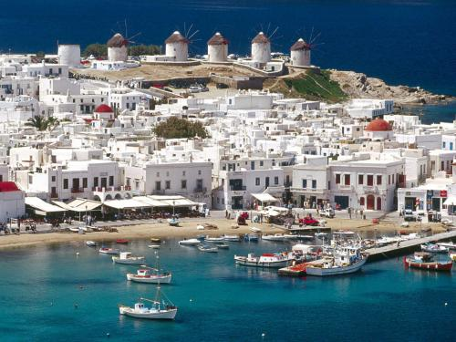 mykonos view photo
