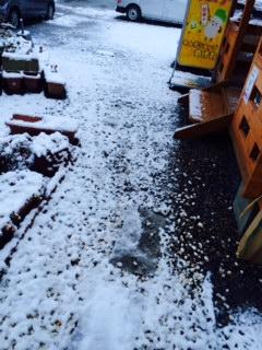 2月4日雪