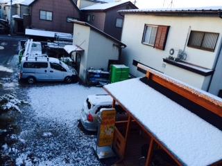 2月5日雪