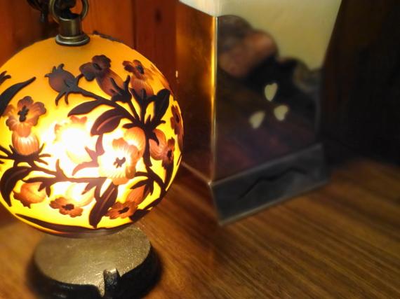 喫茶 蔵 ランプ