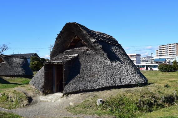 登呂遺跡 竪穴式住居1