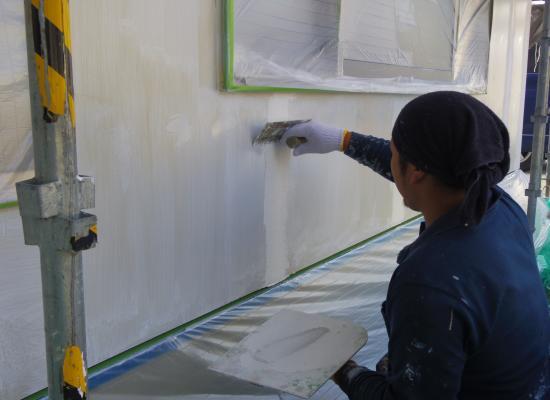 塗装 目地処理2