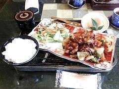 鶏の甘酢あんかけ-001