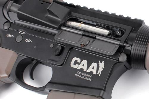 CAAエアーソフトディビジョン、M4電動ガンのダークアースタイプ2