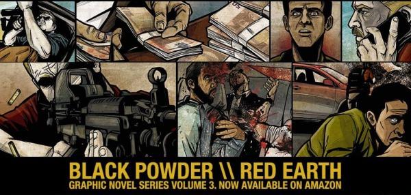 トラビス・ハーレイがオススメするグラフィックノベル「Black Powder Red Earth」