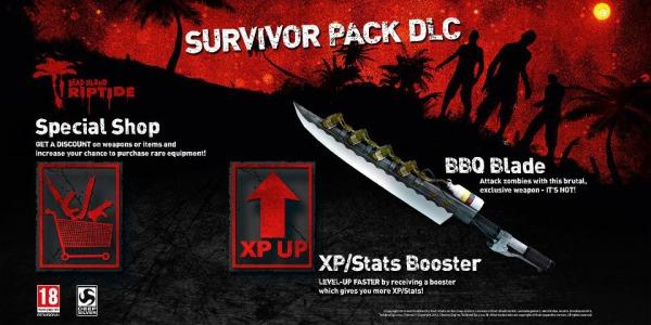 デッドアイランドリップタイド初回購入特典DLC「BBQブレード」