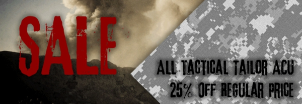 Tactical Tailor 25%OFF