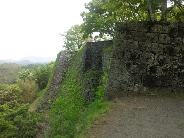三の丸高石垣