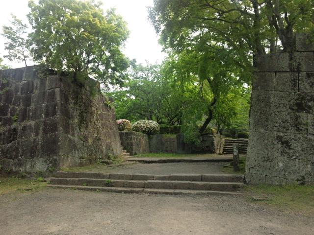 二の丸太鼓櫓跡