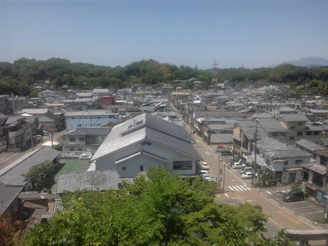 竹田の町並み