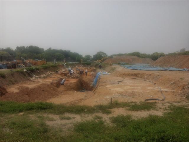 鴻臚館発掘