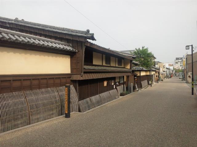 商人の町屋