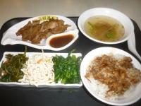 慶城街1號百年呉家の排骨套餐141202