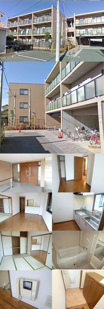 東海岸小学校学区の希少3LDKマンション 9.9万円 日当り良好!