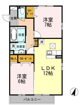 ■物件番号3875 TSUTAYA隣の超築浅2LDKマンション!8.3万円!日当り最高!スーパー1分!生活便利!