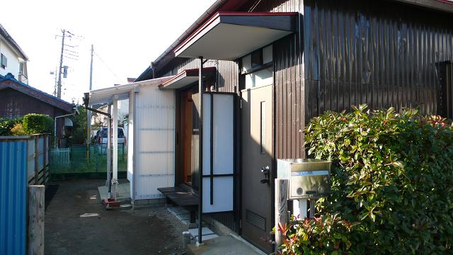 ■物件番号3868 茅ヶ崎海側!昭和レトロ平屋!専用庭!2K+倉庫付!駐車場無料!6.5万円!