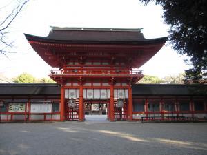 下賀茂神社(京都)の門