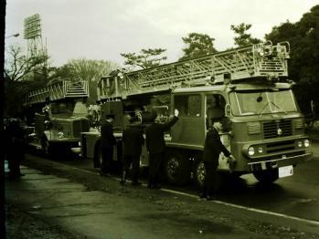 1963当時の消防車