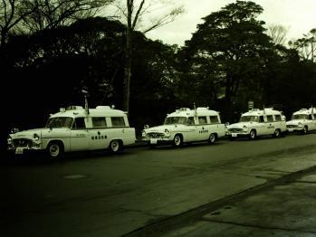 1963年当時の救急車