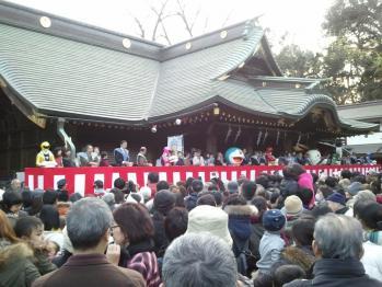 2012大国魂神社節分