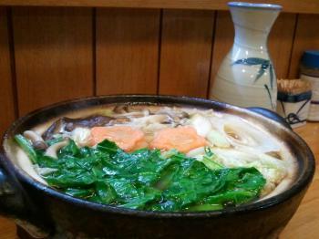 春菜の鴨鍋