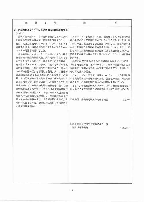 H249月補正 民主党【回答】⑤