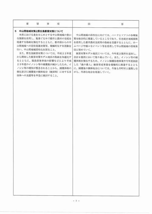 H249月補正 民主党【回答】⑦