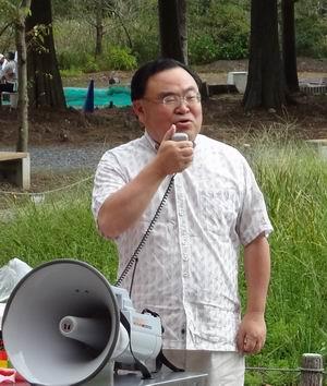 斉藤後援会BBQ大会 塚原前市議