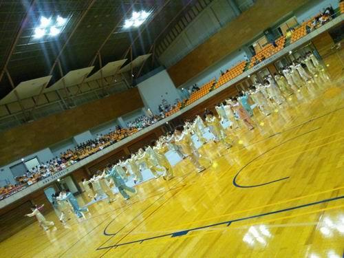~とちまるフェスタ2012太極拳大会~第23回栃木県武術太極拳交流大会 開会式