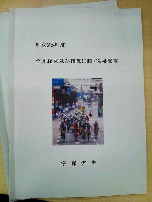 宇都宮市政懇談会(平成24年度)報告①