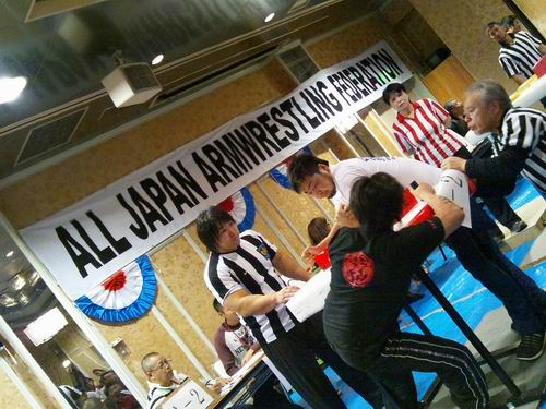 第6回オールジャパンカップカームレスリング選手権大会&第23回オール栃木アームレスリング選手権大会②