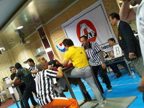 第6回オールジャパンカップカームレスリング選手権大会&第23回オール栃木アームレスリング選手権大会③