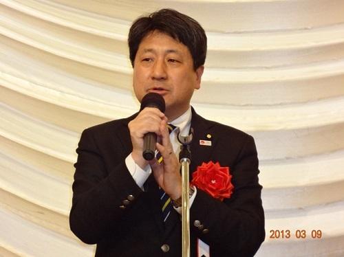 田城参議院議員(来賓あいさつ)