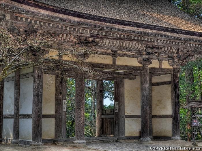 西明寺二天門