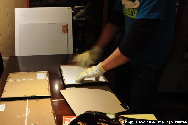 2012・5・写真展準備1