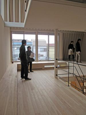 江戸川の家」完成見学会の様子