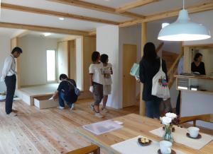 栗山の家 完成見学会の様子