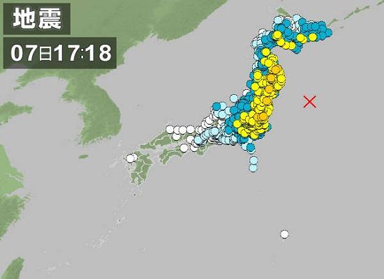 12月7日地震