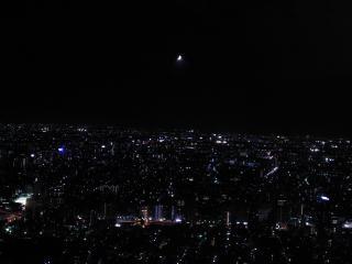 2012年8月23日19時半頃@都庁北展望台