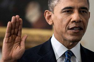 オバマ大統領第二期就任宣誓