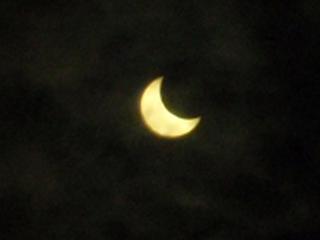 2012年5月21日金環日食その1