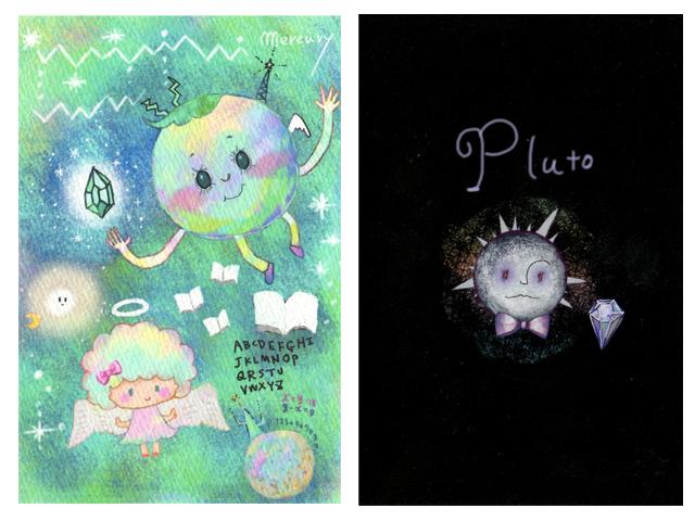 水星&冥王星カード